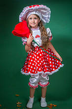 Карнавальный костюм  Гриб Мухомор для девочки
