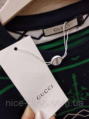 Свитер Gucci черный, фото 3