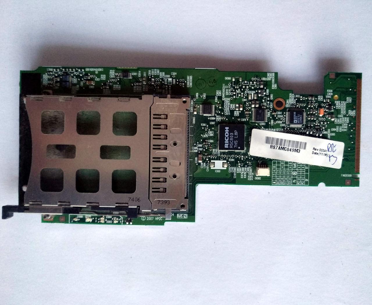 346 Плата PCMCIA аудио HP 6715s 6735s 6715b 6510b 6710b 6515b - 6050A2085501-CB-A04
