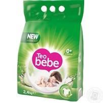 Детский стиральный порошок Teo Bebe алое, 2,4 кг