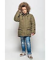 Теплая куртка-парка для мальчиков Торонто, фото 1