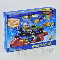 Игрушка для мальчиков автотрек Мини Покраска авто , машинка меняет цвет, в коробке