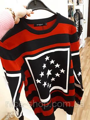 Свитер Givenchy красный, фото 2