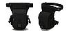Сумка тактична на стегно SWAT, з кріпленням на пояс ForTactic чорна, фото 2
