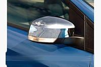 Накладки на зеркала (2 шт, пласт.) Ford Focus II 2008-2011 гг. / Ford Focus III 2011↗ и 2015↗ гг.