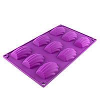 Планшет силикон печенье Мадлен (ракушка)