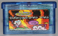"Картридж на GBA ""CLASH with the ANTI-WORLD"""