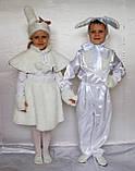 Карнавальный костюм  для девочки Зайка, фото 3