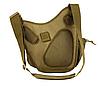 Тактическая сумка с креплением системы MOLLE TacticBag Черная, фото 4