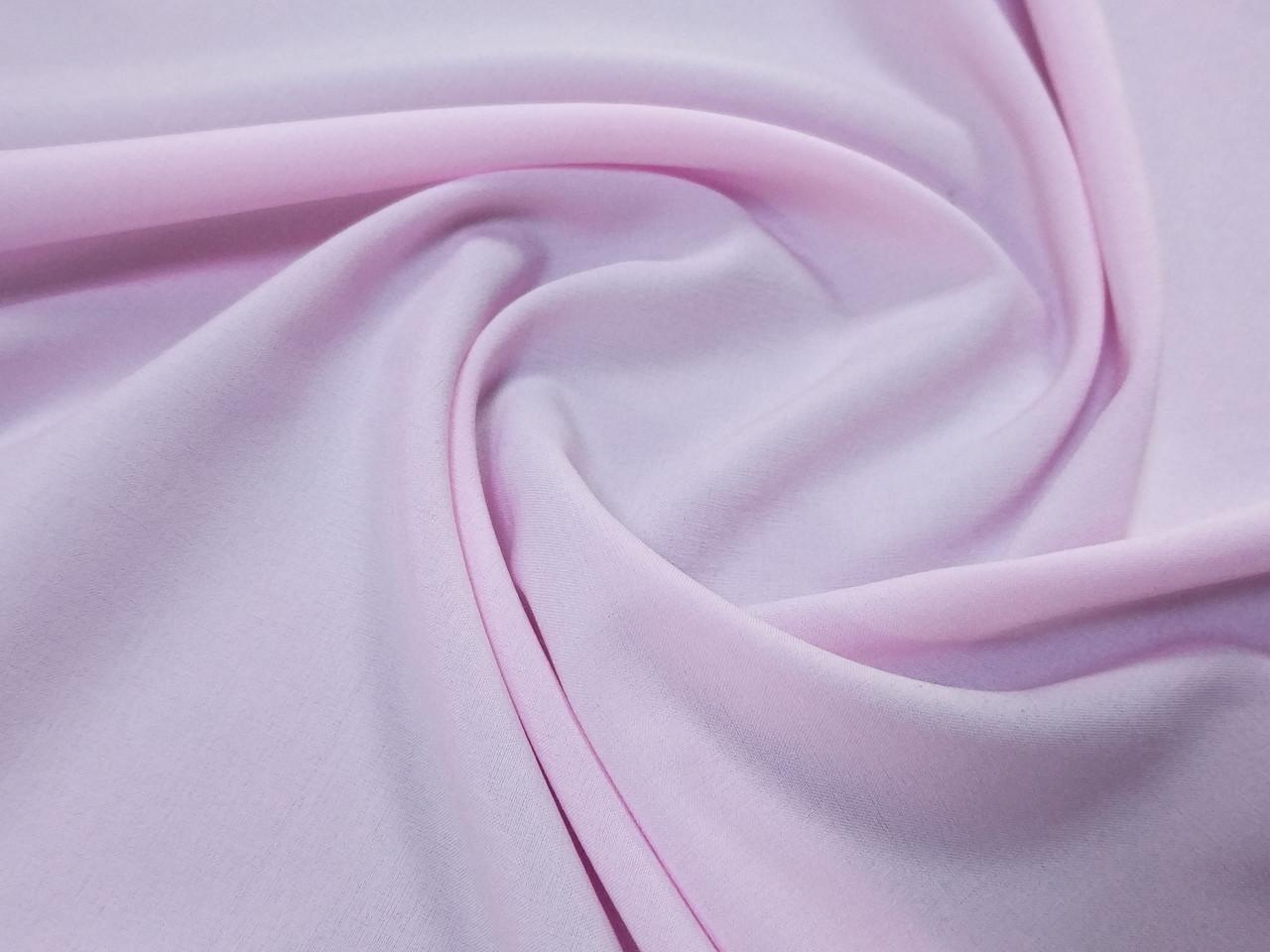 Вискоза софт однотонная, бледно-розовый