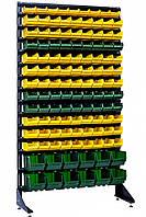 Сборный полки стеллажи 1.8 м Жёлто-зелёный Авдеевка, фото 1