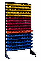 Витрина с пластмассовыми боксами 1.8 м Цветной Александровск, фото 1