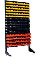 Перфорированный стеллаж с ящиками для хранения Комбинированный Алчевск