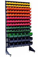 Торговый стеллаж с ящиками 1.8 м Комбинированный Антрацит