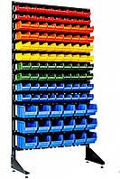 Торговый стеллаж с ящиками 1.8 м Цветной Бар, фото 1