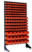 Стеллаж-Витрина открытого типа Оранжевый Березань, фото 1