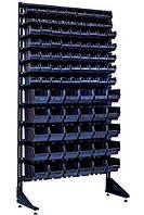 Металлический шкаф под ящики Пласт Бокс, Чёрно-Красный Вахрушево, фото 1