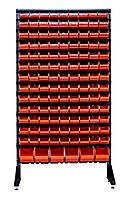Перфорированный стеллаж с ящиками для хранения Заставна, фото 1