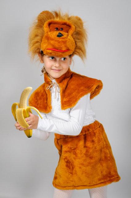 Карнавальный костюм обезьянки для  девочки
