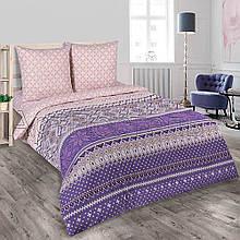 Комплект постельного белья , Скандинавские мотивы  поплин . Двуспальный