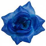 Головка Троянда середня шовк, 10см ( 50 шт в уп), фото 7