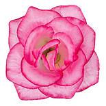 Головка Троянда середня шовк, 10см ( 50 шт в уп), фото 6