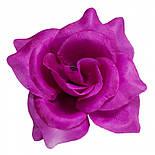 Головка Троянда середня шовк, 10см ( 50 шт в уп), фото 8