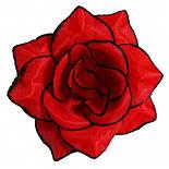 Головка Троянда середня шовк, 10см ( 50 шт в уп), фото 9