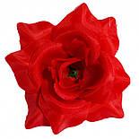 Головка Троянда середня шовк, 10см ( 50 шт в уп), фото 10
