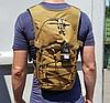 Рюкзак тактический городской велорюкзак, молодёжный, слинг, компактный TacticBag, фото 2