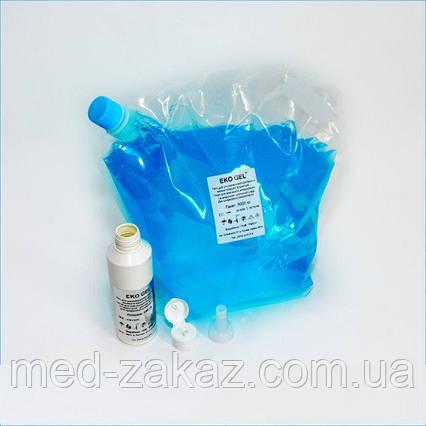 Гель для УЗД високої в'язкості блакитний EKO GEL EBVS5000