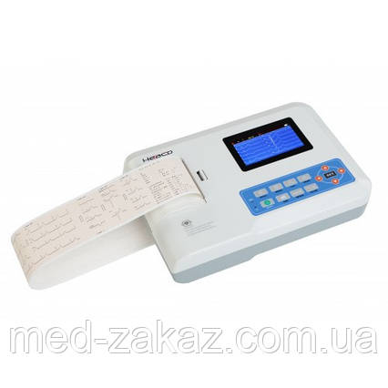 Электрокардиограф ECG300G укомплектован сумкой