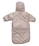 Курточка демисезонная и конверт для девочек от рождения до 18 мес, фото 3