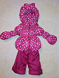 Демисезонный  костюм (куртка и штаны) для девочек, фото 5