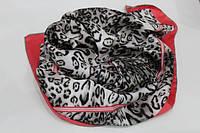 Шелковый леопардовый платок, фото 1