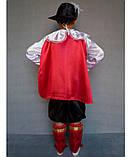 Детский новогодний  костюм  Кот в сапогах, фото 3