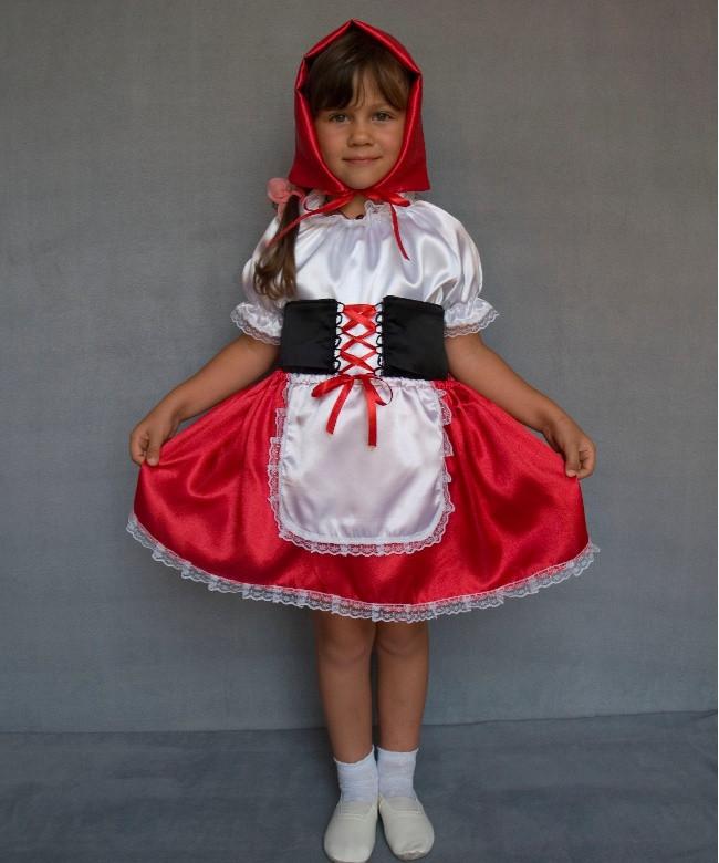 Детский новогодний  костюм Красная шапочка