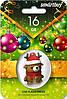 Флешка -игрушка 16 гб Smartbuy USB 2.0 Новогодний олень, фото 3