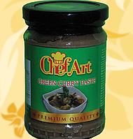 Карі паста зелена, Chef Art,  240г, Фо