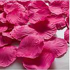 Штучні пелюстки троянд, червоні, фото 2