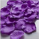 Штучні пелюстки троянд, червоні, фото 6