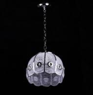 Подвесная люстра на 1 лампочку (хром)