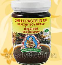 Чилі паста в олії, Chilli Paste In Oil, Healhty Boy, 220г, Дж