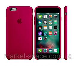 """Чехол силиконовый для iPhone 6/6S. Apple Silicone Case, цвет """"Красная роза"""""""