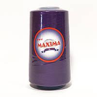 Швейные нитки 40/2 MAXIMA, темно-фиолетовый (019)