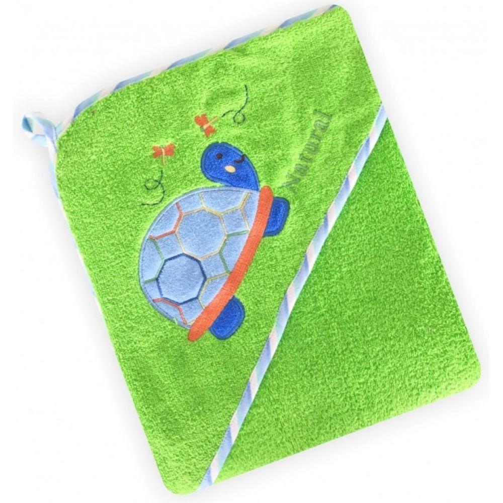 Полотенце для купания. Уголок baby mix