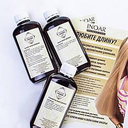Кератиновое выпрямление волос Иноар, набор 3х100 мл