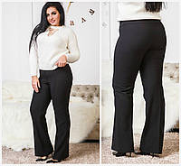 Женские теплые брюки Батал до 60 р 17418, фото 1