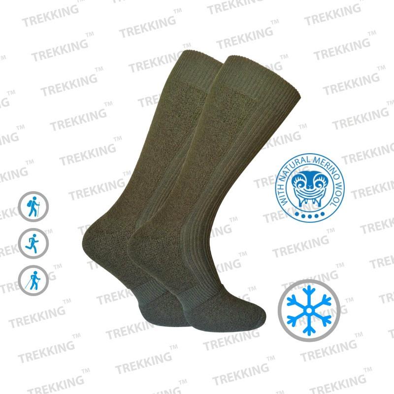 Термоноски шерсть зимние теплые треккинговые Trekking MidWinter (original) носки c шерстью мериноса