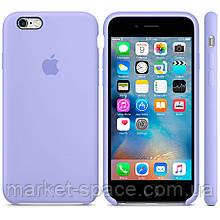 """Чехол силиконовый для iPhone 6 Plus/6S Plus. Apple Silicone Case, цвет """"Сирень"""""""